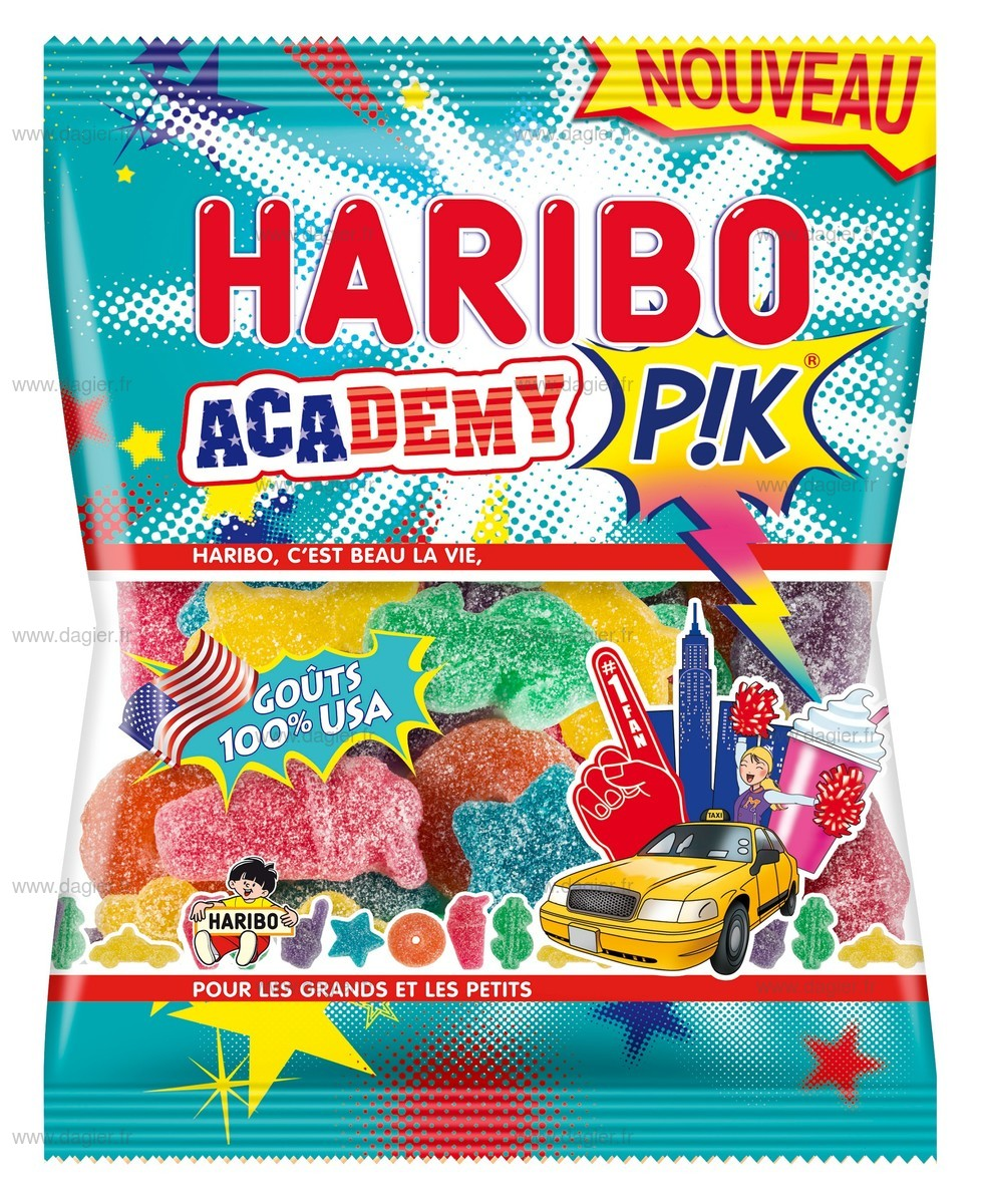 sachet emballage bonbon